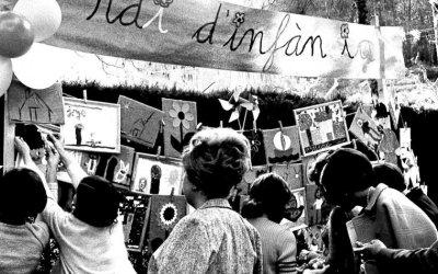 [FOTOS] La Fira de Primavera a l'Escola Tagore als anys 70