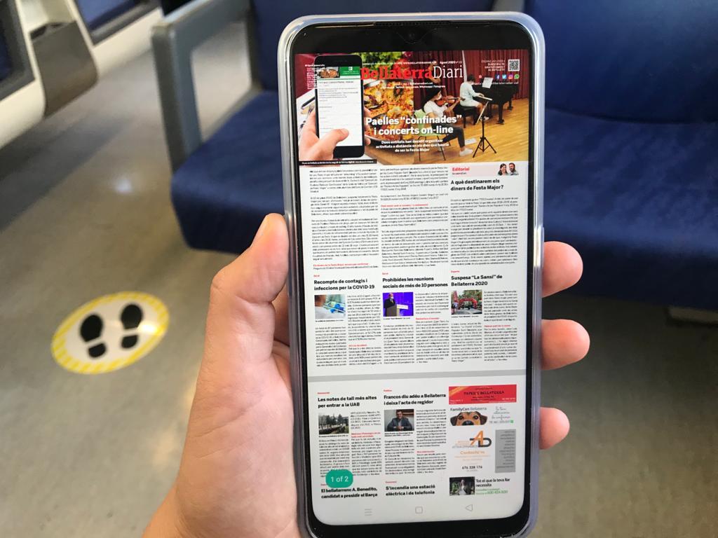 Llegeix la nostra edició en paper també al mòbil | Redacció