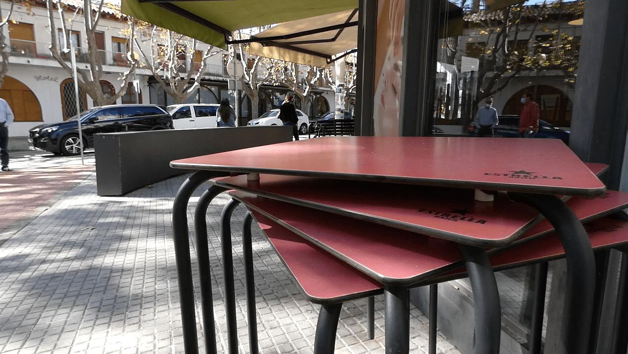 Les taules recollides al Bar del Club de Bellaterra | Laia TR