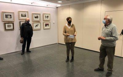 El bellaterrenc Santi Llorens inaugura una exposició sobre gravats a Valldoreix