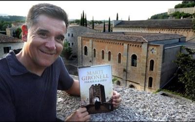 Martí Gironell recupera el pont de Besalú amb la seva nova novel·la