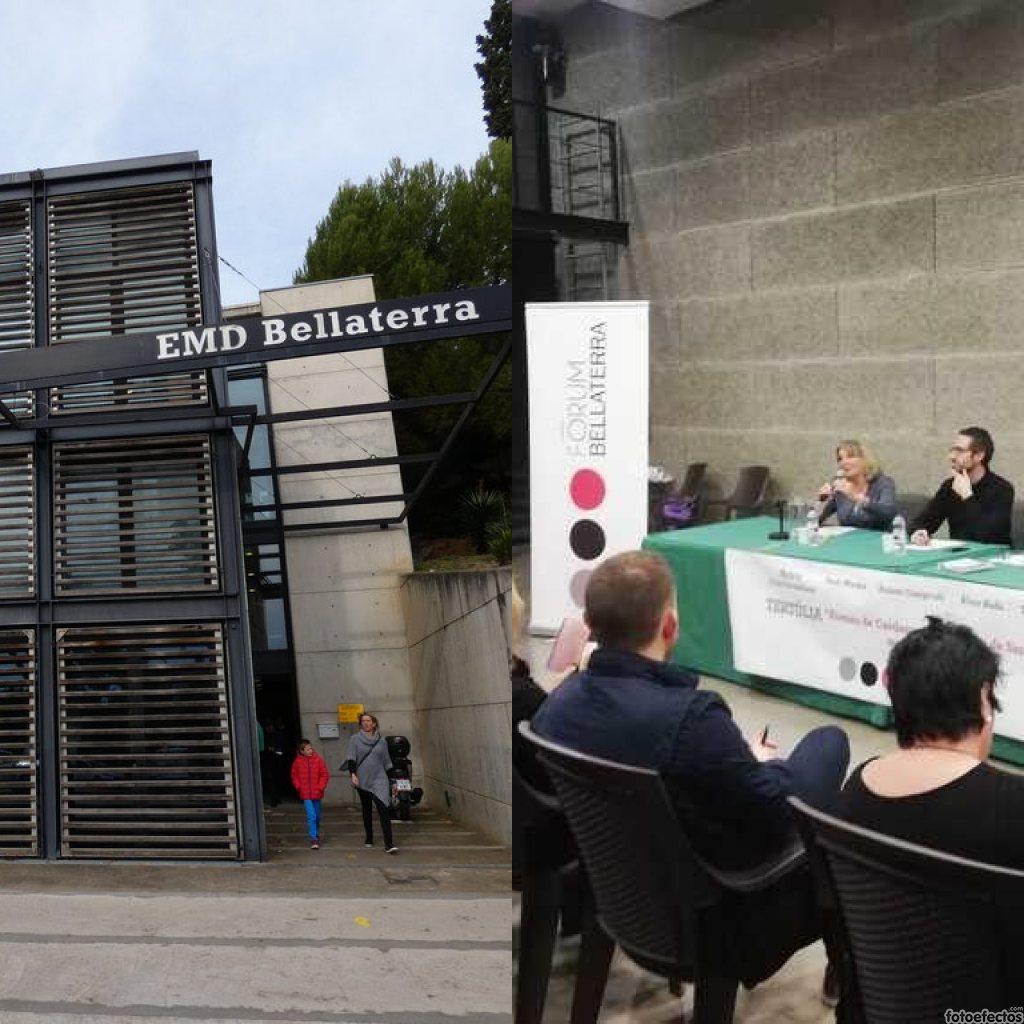 Collage amb fotos del Fòrum Bellaterra i l'EMD | Redacció