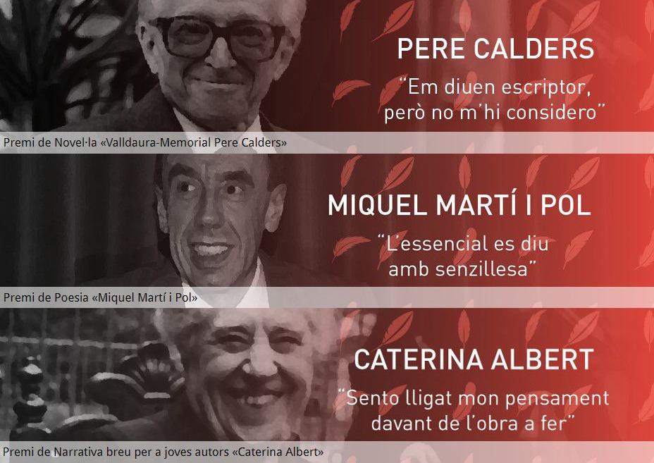 Els Premis Literaris de Cerdanyola i la UAB fan honor a tres grans de les lletres catalanes   Ajuntament de Cerdanyola