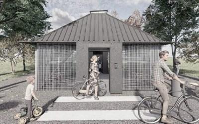 Tindrem un aparcament per bicis a l'estació de Bellaterra