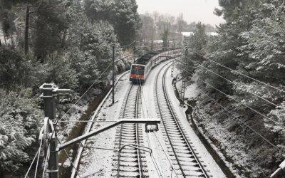 Prealerta per neu a Bellaterra aquest cap de setmana