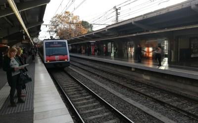 Detingut un jove per robar una cadena d'or amb una estrebada a l'estació de tren de Sant Cugat