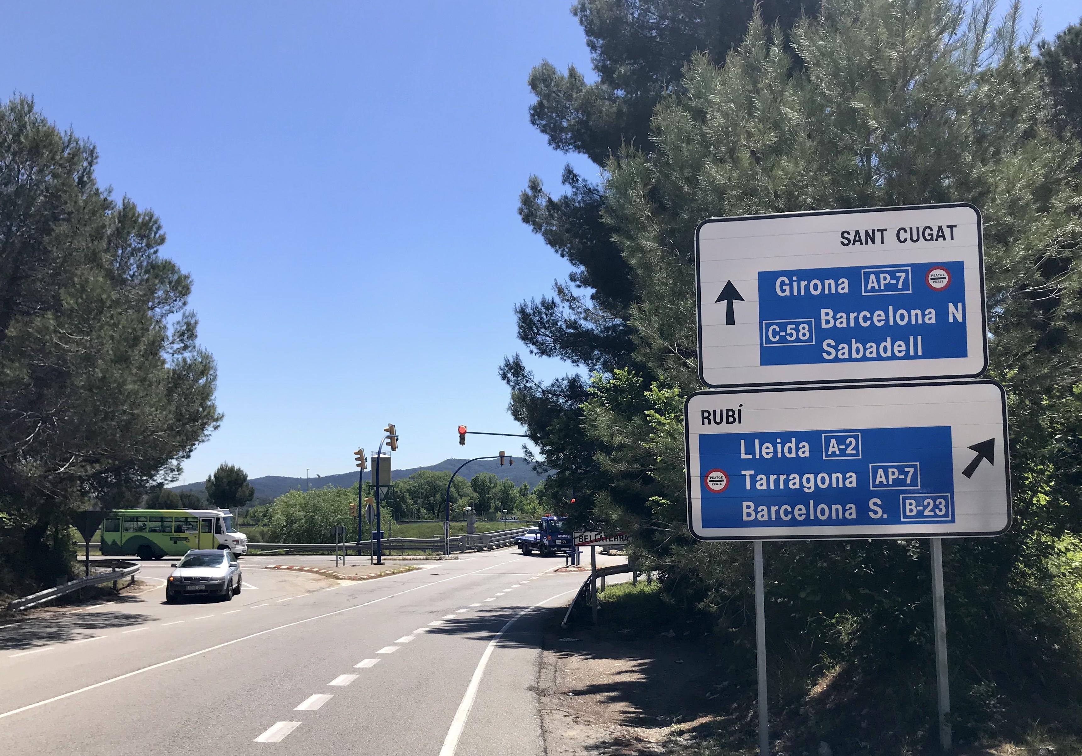 Entrada Bellaterra AP-7