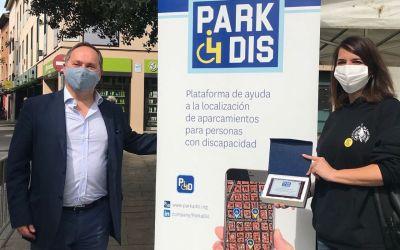 Sant Cugat facilita l'aparcament a persones amb mobilitat reduïda través d'una aplicació