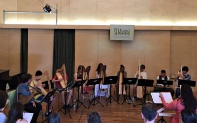 Els arpistes d'Arianna Savall, a concert