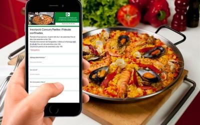 Inscriu-te al Concurs de Paelles i Fideuàs i guanya vals de 25 € per gastar en comerços i restaurants