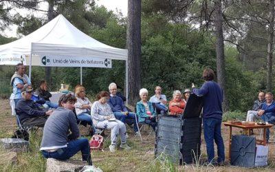 El taller de compostatge triomfa a Bellaterra