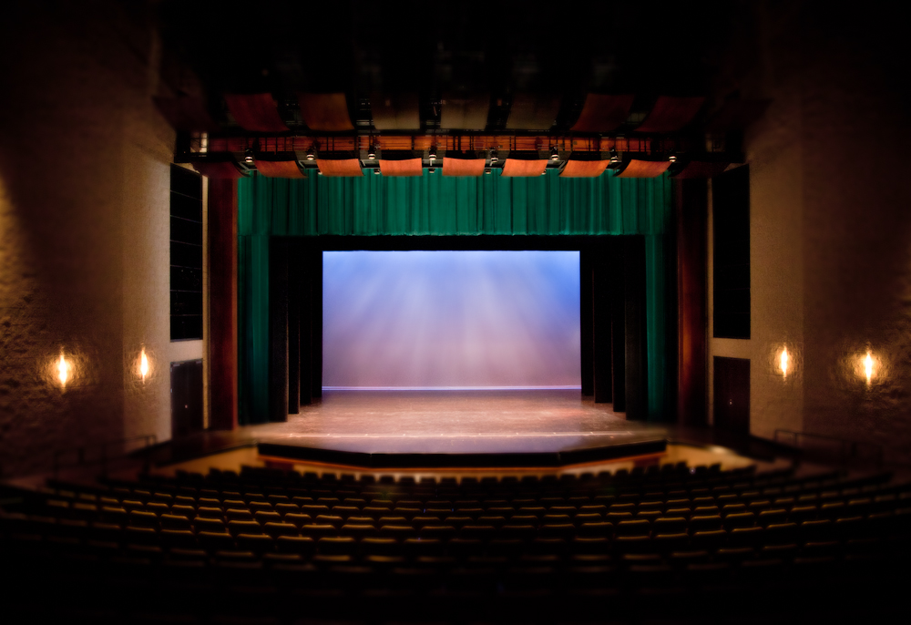 Delta State University Stage Curtains  BellaTEX