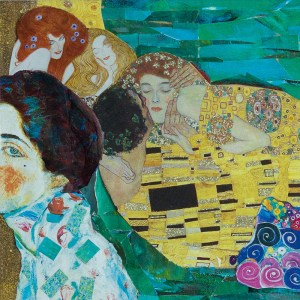 Klimt at Rest by Dee Perconti