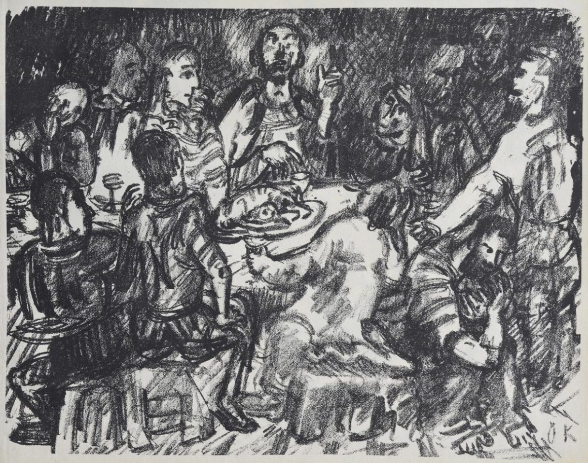 Oscar-Kokoschka-Last-Supper
