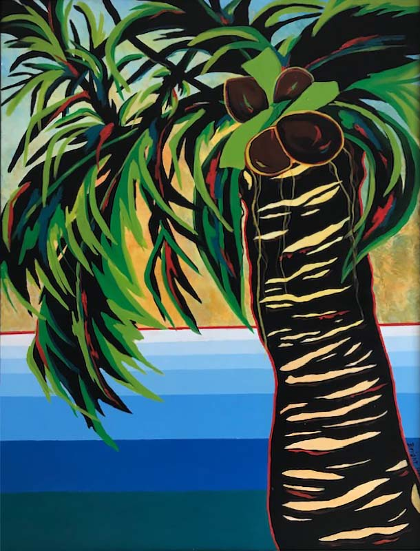 Majestic Palm 2 | Acrylic