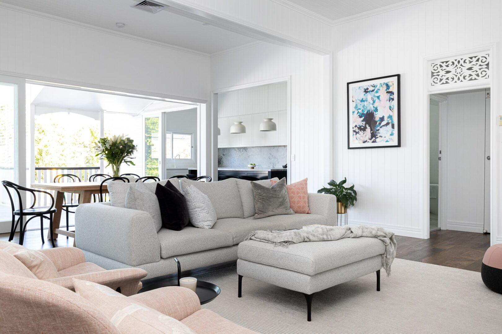 REVEAL | A classic Queenslander renovated in modern Hamptons style