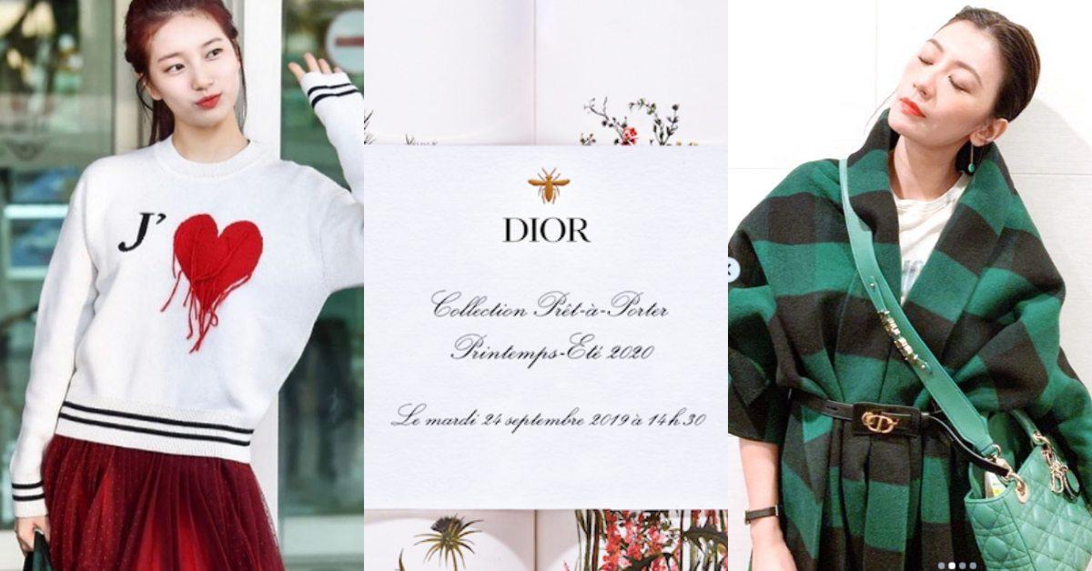 兩大女神賈靜雯、秀智將現身Dior大秀!2020年春夏臺北同步零時差直播 | Bella.tw儂儂