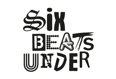 Six Beats Under Logo