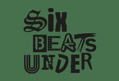 Six Beats Under Logo