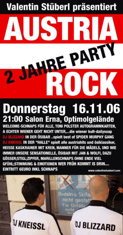 two years of Austria Rock 2006 Salon Erna