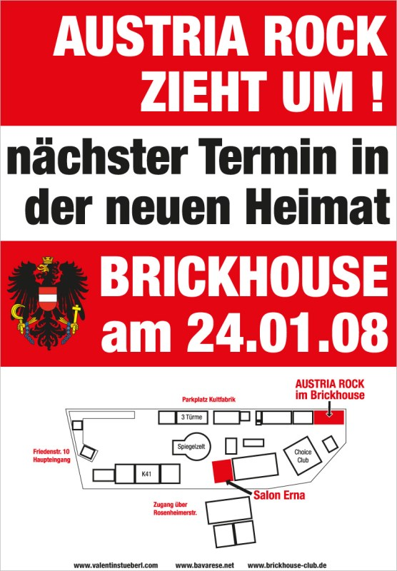 Austria Rock moving to Brickhouse