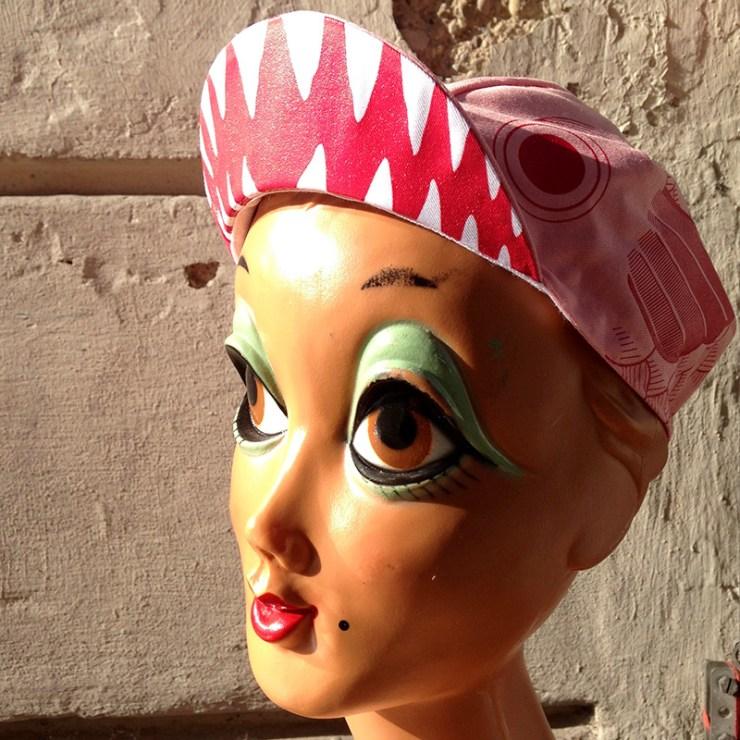Koinobori cycling cap pink