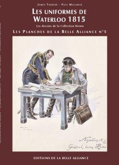 Planches N5: Les uniformes de Waterloo - Couverture