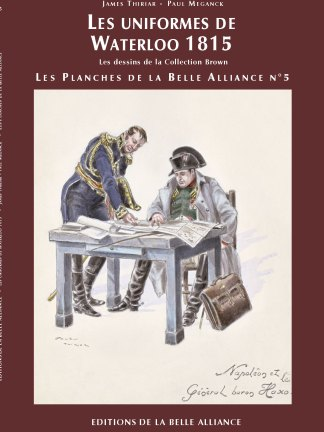 Planches N5: Les uniformes de Waterloo - Couverture
