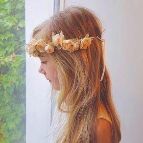Couronnes de fleurs enfants