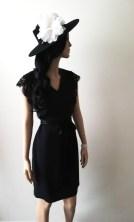 Robe Désirée noire