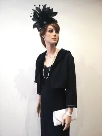 Robe et veste noire