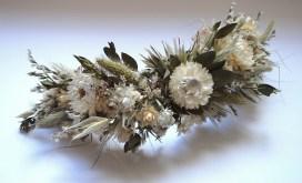 Peigne de fleurs mariage