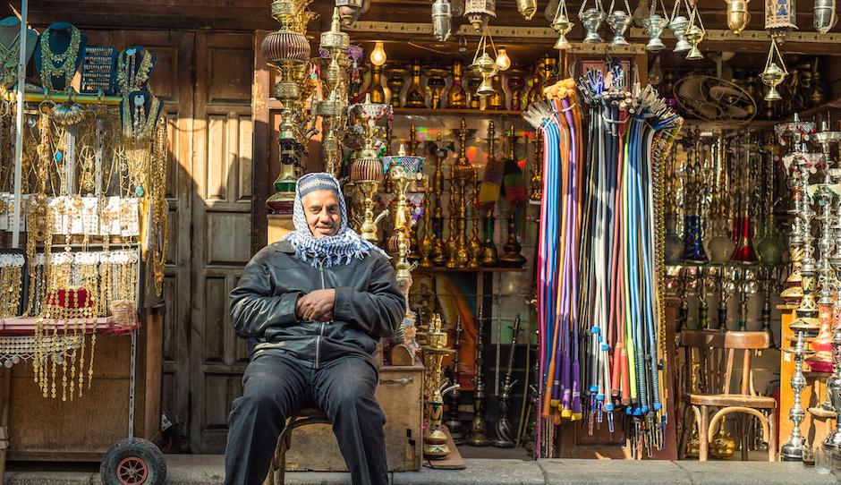 Bazaar of Cairo