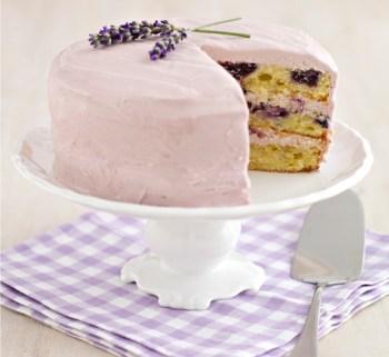 Blueberry & Lavander Cake 3