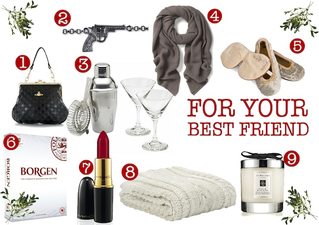 Christmas Gift List Best Friends