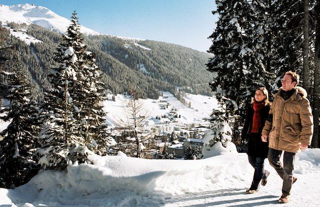 Davos: Winterwandern