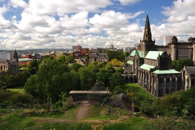 UK Fashion Cities: Glasgow Gothic Clouds Glasgow Church The Cathedral Tourism