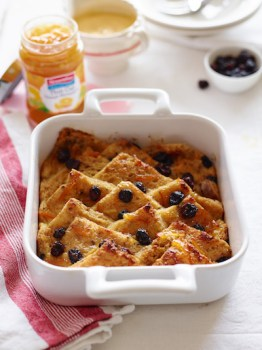 J Lighter Brighter Bread & Butter Pudding with Streamline Marmalade