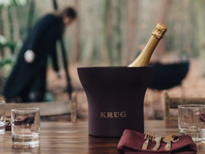 Foraging for mushrooms with Glyn Purnell and Krug Champagne