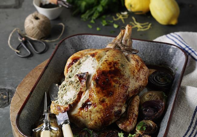 Balsamic-Sugar Glazed Chicken