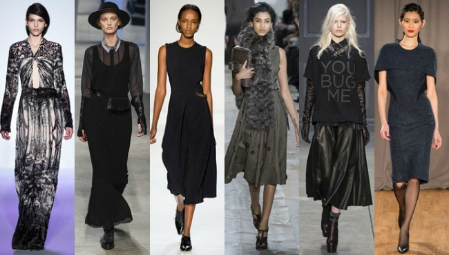 NY AW14 Long skirts