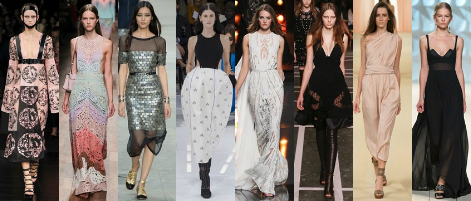 Paris Fashion Week Trends SS15 Main