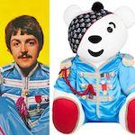 Paul McCartney Pudsey Bear