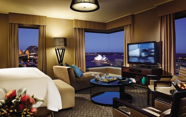 Four Seasons Sydney Premier Harbour View Room