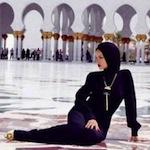 Rihanna Abu Dhabi Mosque Shots