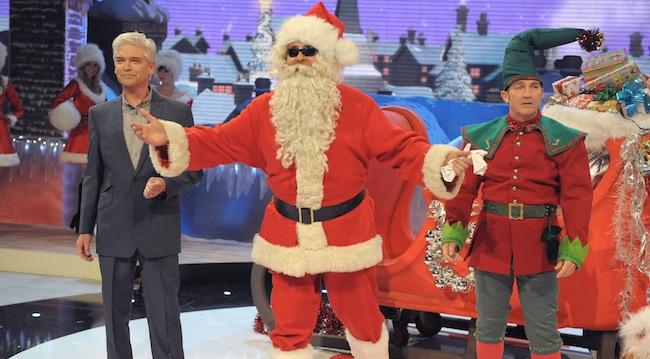 Text Santa ITV