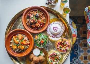Vegan feast at Comptoir Libanais