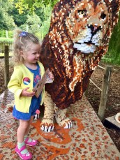 Belle About Town visits the Great Brick Safari exhibitionn at Marwell Zoo in Hampshire, which runs until October