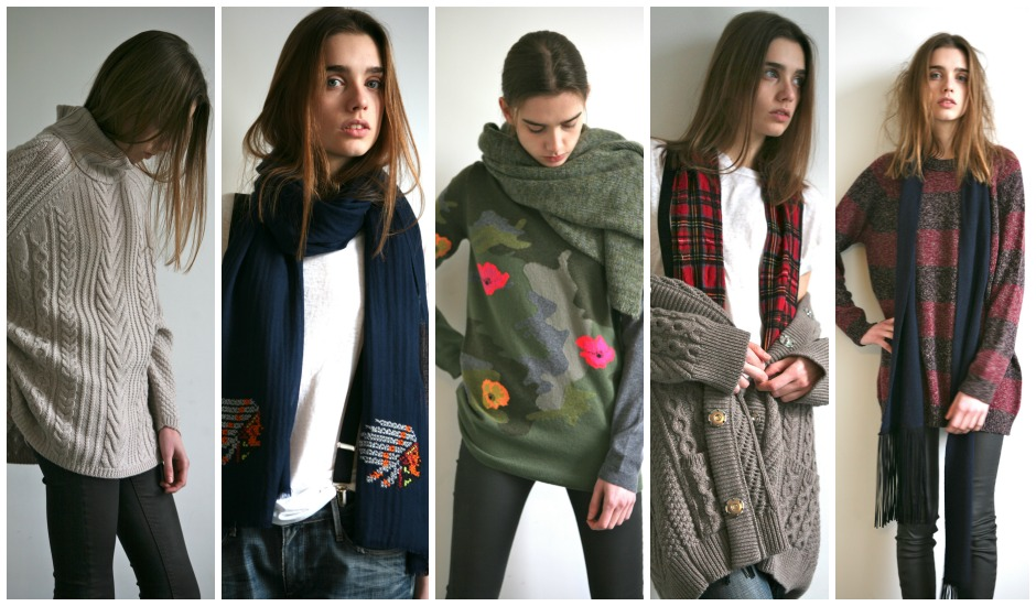 cashmere collage