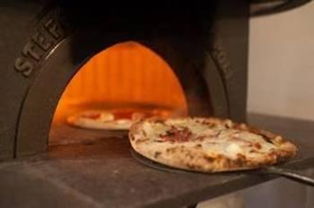 Pizza at O ver, London